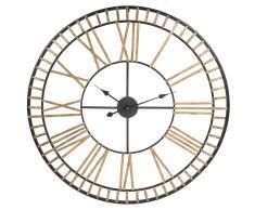 Horloge en métal D 90 cm CLAREMONT