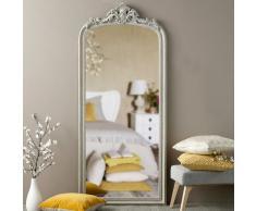 Miroir à moulures grises 78x181