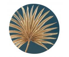 Déco murale palmier doré D40