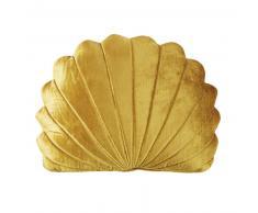 Coussin coquillage doré 30x40