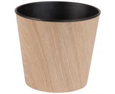 Cache-pot imitation bois H17