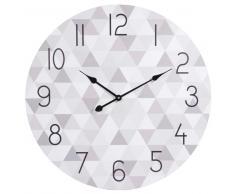 Horloge grise D 70 cm ZOÉ