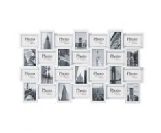 Cadre photos blanc 60 x 102 cm DÉCALAGE