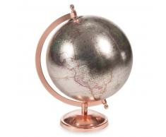 Globe terrestre H 29 cm COPPER GLACE