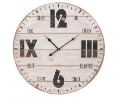 Horloge imprimée