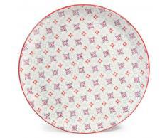 Assiette plate en faïence D 27 cm COCOTTE