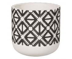 Cache-pot en céramique motifs ethniques H13
