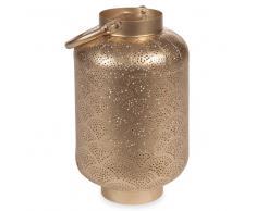 Lanterne en métal H 26 cm GOLD NECOSIA