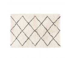 Tapis berbère en laine et coton 140x200