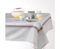 Nappe enduite carrée en coton 150 x 150 cm EMMA