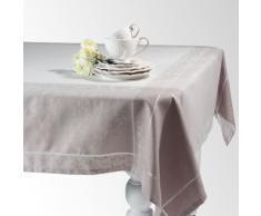 Nappe en tissu grise 150 x 250 cm PALACE