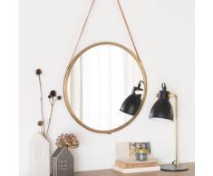 Miroir à suspendre en métal D46
