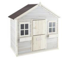 Cabane de jardin enfant grise Lola