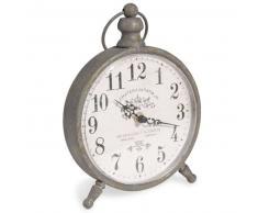 Horloge à poser en métal H 24 cm JULIETTA