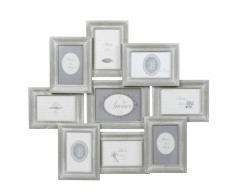 Cadre gris photo 9 vues 56 x 65 cm COLETTE