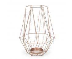 Lanterne en métal cuivré H 27 cm MALMO COPPER