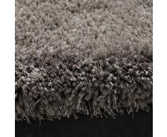 Tapis à poils longs gris 160 x 230 cm POLAIRE