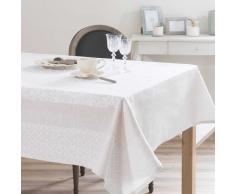 Nappe en coton et lin écru 170 x 310 cm LISBONNE