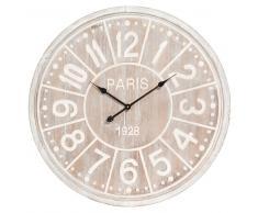 Horloge en bois D 80 cm NORWEDGE