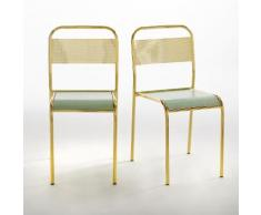 Chaise d'écolier (lot de 2) Kimbie, Studio Aoüt - PETITE FRITURE