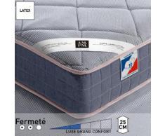 Matelas latex luxe, grand confort, H25 cm, Altagam