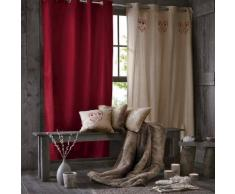 Rideau velours pur coton oeillets, Wouri - La Redoute Interieurs