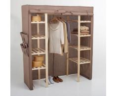 Armoire de rangement tissu, 1/2 penderie, 1/2 ling - La Redoute Interieurs