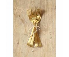 Fourchette dorée par lot de 4 - CYRILLUS