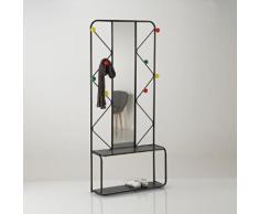Porte manteau métal avec miroir Agama - La Redoute Interieurs