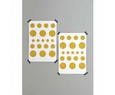 Stickers pois dorés - CYRILLUS