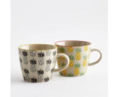 Tasse céramique, Tossita (lot de 4) - La Redoute Interieurs