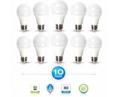 10 pcs pack - 12W AMPOULE LED A60 E27 Blanc chaud - ARUM LIGHTING
