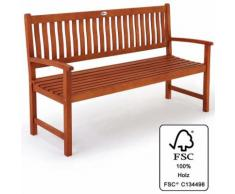 Banc de jardin en bois d'eucalyptus certifié FSC® 152 cm - Siège terrasse Jardin - DEUBA