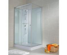 Cabine de douche 120 x 80 cm, porte coulissante, ouverture vers la gauche - SCHULTE