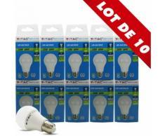 10 pcs pack - 10W AMPOULE LED A60 E27 Blanc naturel - ARUM LIGHTING