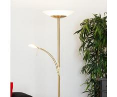 Plafonnier LED Minda lampadaire intensité variable liseuse - LAMPENWELT