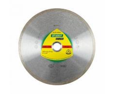 Disque diamant SUPRA DT 600 F D. 125 x 1,6 x Ht.7 x 22,23 mm - Grès cérame / Faïence / Carrelage
