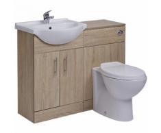 Meuble-lavabo & Toilette WC 51x78x30cm