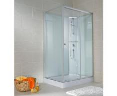 Cabine de douche 80 x 120 cm, porte coulissante, ouverture vers la droite - SCHULTE
