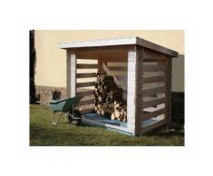 Abri en bois bûcher - 28 mm - 3,74m² - CHALET & JARDIN