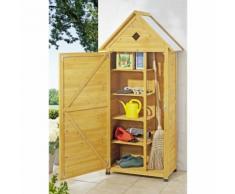 Abri de jardin en bois 70 x 35,5 x 177 cm - ZOOPET
