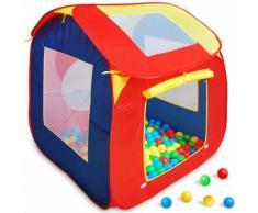 Cabane de jardin pour enfant avec 200 balles - ZOOPET