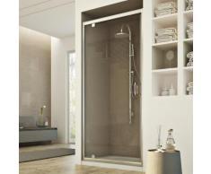 Porte Douche 70CM H185 transparent modèle Sintesi 1 Portillon - IDRALITE