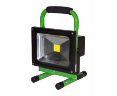 Projecteur LED 20W autonome blanc neutre IP65 extérieur - OHM-EASY LED LIGHTING