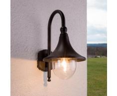 Applique d'extérieur Daphne Extérieur Noir Nostalgique Lampe d'extérieur - LAMPENWELT