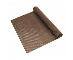 tapis de protection contre les regards en PVC (200x300cm) (marron) protection contre les regards