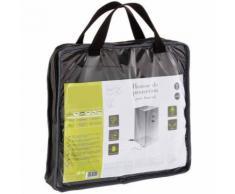 Housse de protection en polyester pour fauteuil de taille S - Dim : 75 x 75 x 100 cm - PEGANE