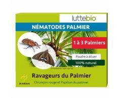 Nématodes charançon rouge du palmier - 25M : 1 à 3 palmiers25M : 1 à 3 palmiersLuttebio