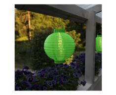 Lampion solaire couleur verte - STAR