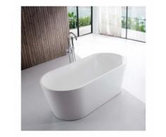 Baignoire ilot Ovale - Acrylique blanc -120x65 cm - Rome - RUE DU BAIN